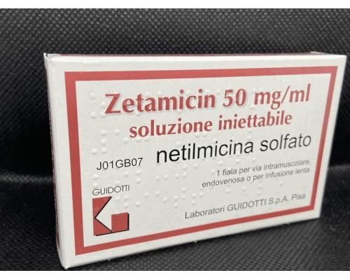 Зетамицин (Нетромицин)